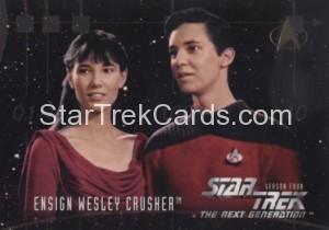 Star Trek The Next Generation Season Four Trading Card 415