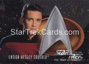 Star Trek The Next Generation Season Four Trading Card 416