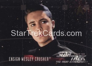 Star Trek The Next Generation Season Four Trading Card 417