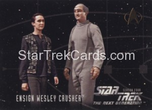 Star Trek The Next Generation Season Four Trading Card 420