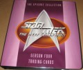 Star Trek The Next Generation Season Four Trading Card Binder