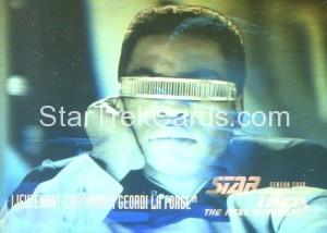 Star Trek The Next Generation Season Four Trading Card HG7