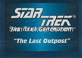 Star Trek Hostess Frito Lay Trading Card Foldout 2