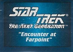 Star Trek Hostess Frito Lay Trading Card Foldout 5