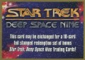 Star Trek Deep Space Nine Trading Card Exchange Card