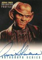 Star Trek Deep Space Nine Profiles Armin Shimerman Autograph