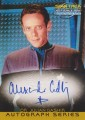 Star Trek Deep Space Nine Memories From The Future Trading Card A1 Blue Ink