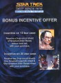 Star Trek Deep Space Nine Memories from the Future Dealer Sell Sheet