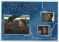 Star Trek Voyager Heroes Villains Card R001