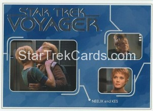 Star Trek Voyager Heroes Villains Card R004