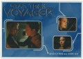 Star Trek Voyager Heroes Villains Card R008