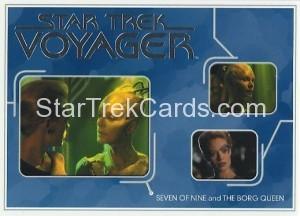 Star Trek Voyager Heroes Villains Card R011