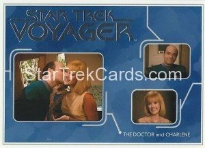 Star Trek Voyager Heroes Villains Card R019