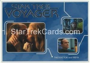 Star Trek Voyager Heroes Villains Card R021