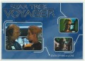 Star Trek Voyager Heroes Villains Card R022