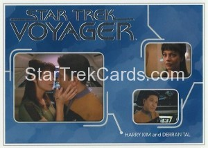 Star Trek Voyager Heroes Villains Card R023
