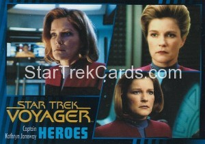 Star Trek Voyager Heroes Villains Card001