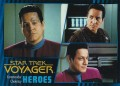 Star Trek Voyager Heroes Villains Card0021