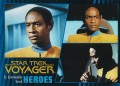 Star Trek Voyager Heroes Villains Card003