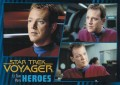 Star Trek Voyager Heroes Villains Card0041