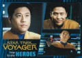 Star Trek Voyager Heroes Villains Card005