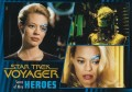 Star Trek Voyager Heroes Villains Card007