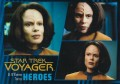 Star Trek Voyager Heroes Villains Card0081