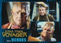 Star Trek Voyager Heroes Villains Card009