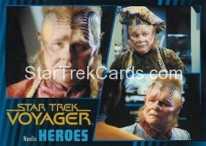 Star Trek Voyager Heroes Villains Card0091