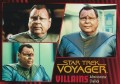 Star Trek Voyager Heroes Villains Card0101