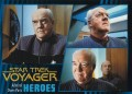 Star Trek Voyager Heroes Villains Card0111