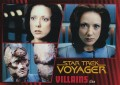 Star Trek Voyager Heroes Villains Card0131