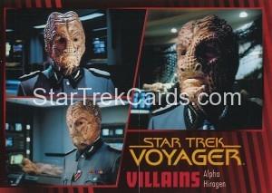 Star Trek Voyager Heroes Villains Card014