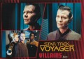 Star Trek Voyager Heroes Villains Card015