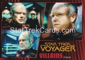 Star Trek Voyager Heroes Villains Card017