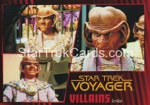 Star Trek Voyager Heroes Villains Card018