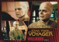 Star Trek Voyager Heroes Villains Card019