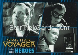 Star Trek Voyager Heroes Villains Card022