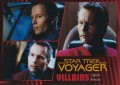 Star Trek Voyager Heroes Villains Card023