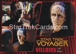 Star Trek Voyager Heroes Villains Card0251