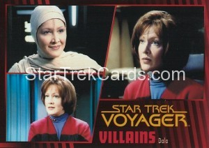 Star Trek Voyager Heroes Villains Card026