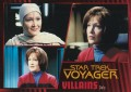 Star Trek Voyager Heroes Villains Card0261