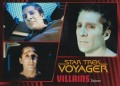 Star Trek Voyager Heroes Villains Card027