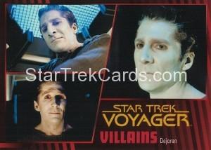 Star Trek Voyager Heroes Villains Card0271