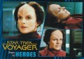 Star Trek Voyager Heroes Villains Card028