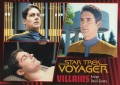 Star Trek Voyager Heroes Villains Card0341