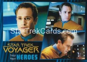 Star Trek Voyager Heroes Villains Card035