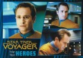 Star Trek Voyager Heroes Villains Card0351