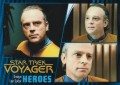 Star Trek Voyager Heroes Villains Card036