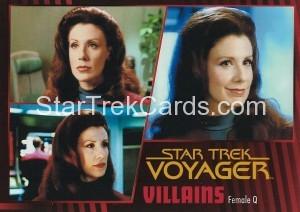 Star Trek Voyager Heroes Villains Card038